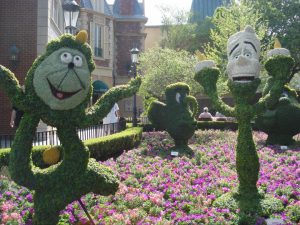 Epcot Flower and Garden Festival Topiaries The Traveling Mouse Company