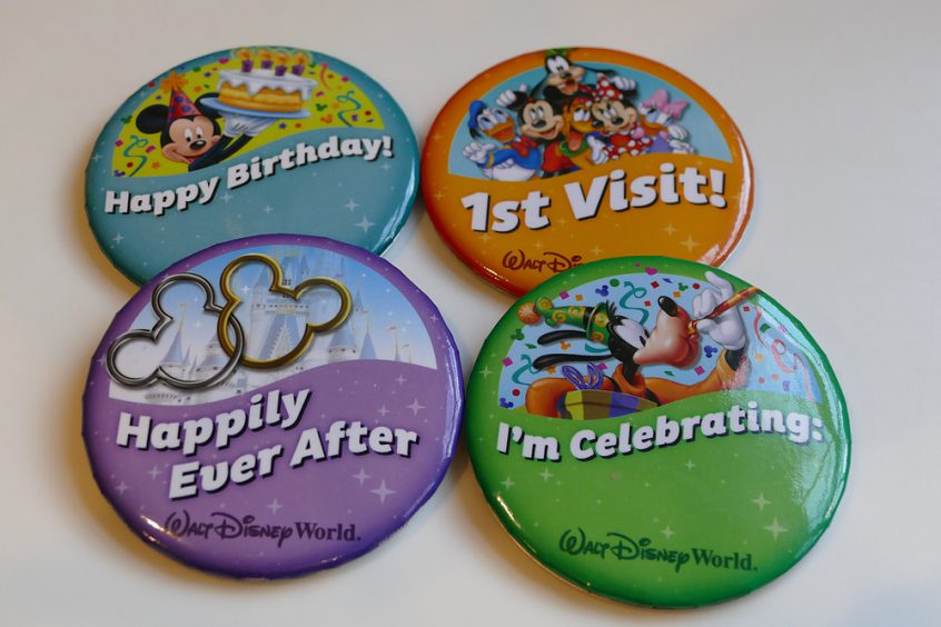 How To Get A FREE Celebration Button at Walt Disney World