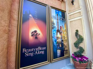 Beauty and the Beast Sing-Along (France Pavilion)
